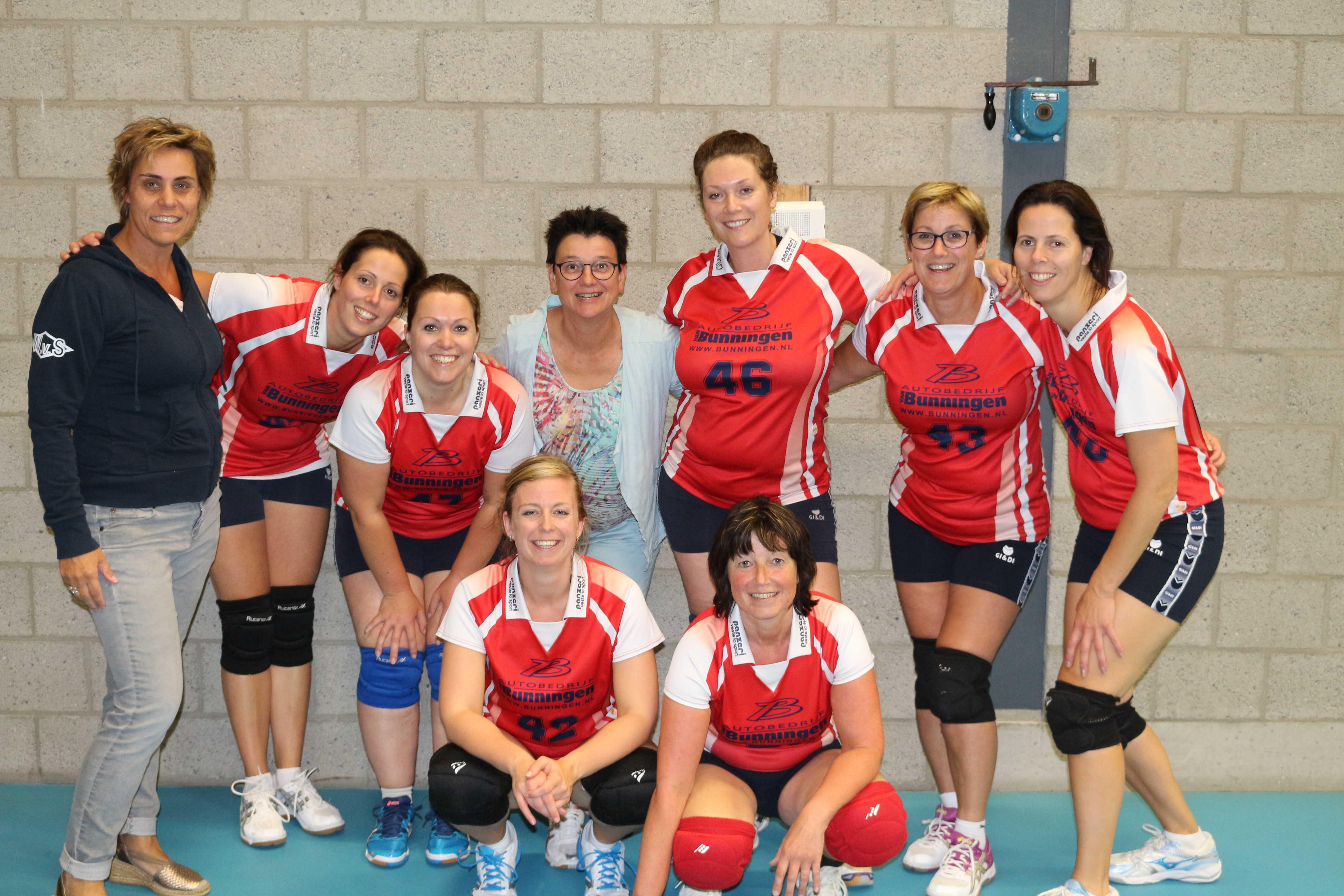 Na dames competitie nu wellicht ook kampioenschap voor dames recreanten!