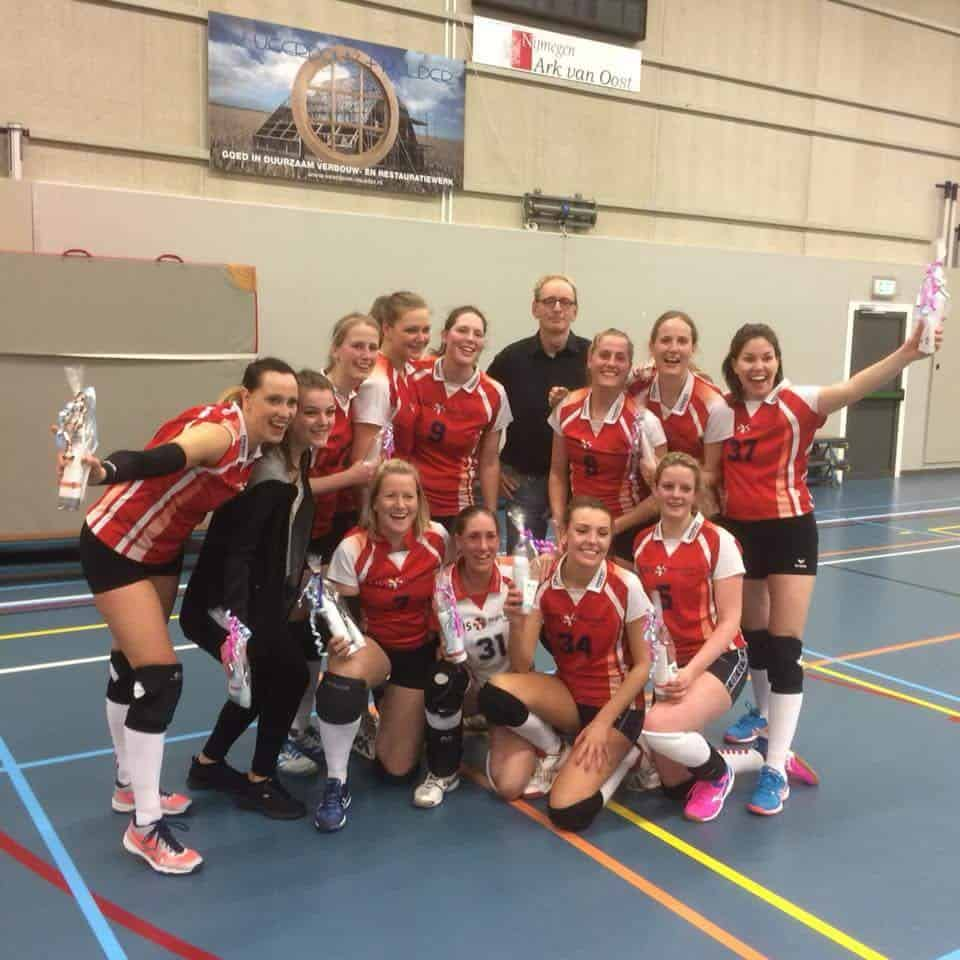 Onze D1 competitie is kampioen!